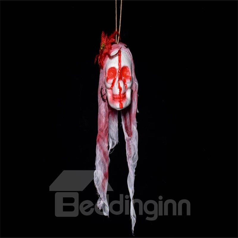 Halloween Bar House Decoration Ghost Head Horror White