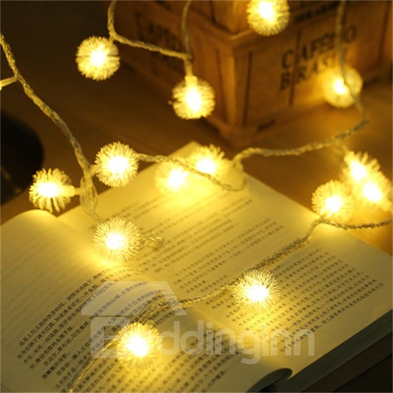 Beautiful and Lovely Small Balls Christmas and Feast Indoor and Outdoor LED Night Bulbs
