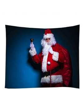 The Figure of Santa Claus Merry Christmas Decorative Hanging Wall Tapestry