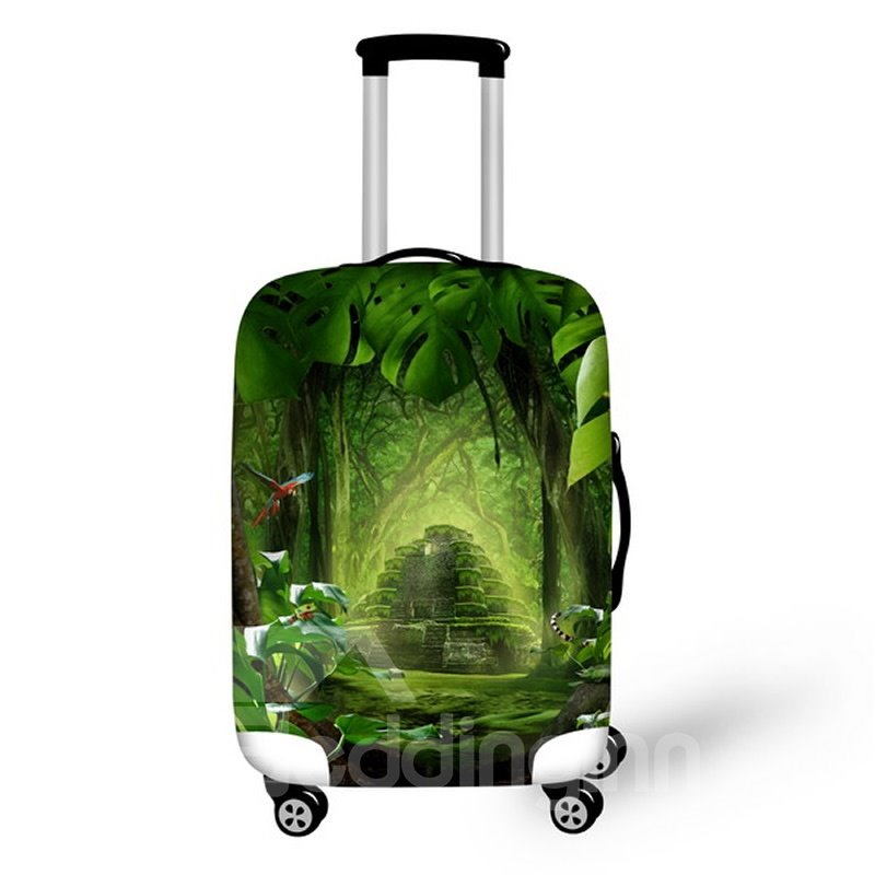 Mysterious Forest Waterproof Suitcase Protector for 19 20 21