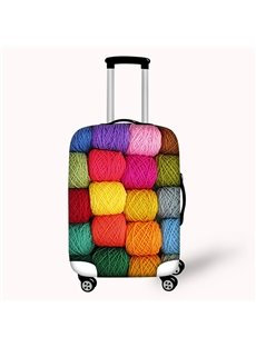 Colorful Woolen Waterproof Suitcase Protector for 19 20 21