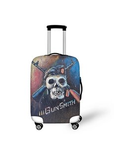 Gun Smith Skull Waterproof Suitcase Protector for 19 20 21