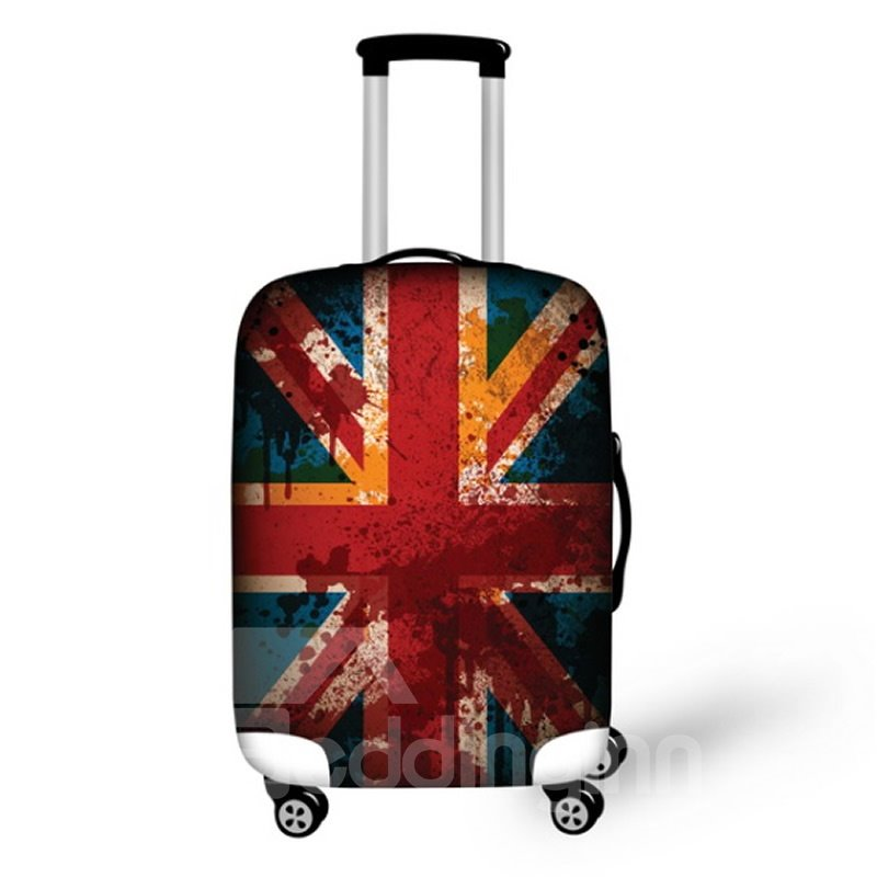 England Flag Pattern Waterproof Suitcase Protector for 19 20 21