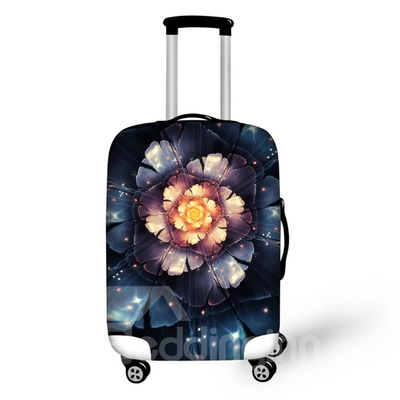 Big Flower Amazing Pattern Waterproof Suitcase Protector for 19 20 21
