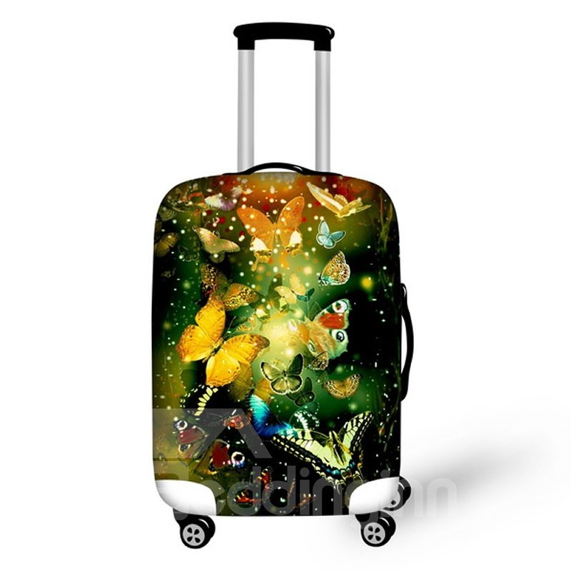 Kinds of Butterfly Pattern Waterproof Suitcase Protector for 19 20 21