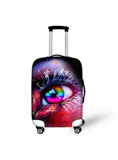 Colorful Eyes Pattern Waterproof Suitcase Protector for 19 20 21