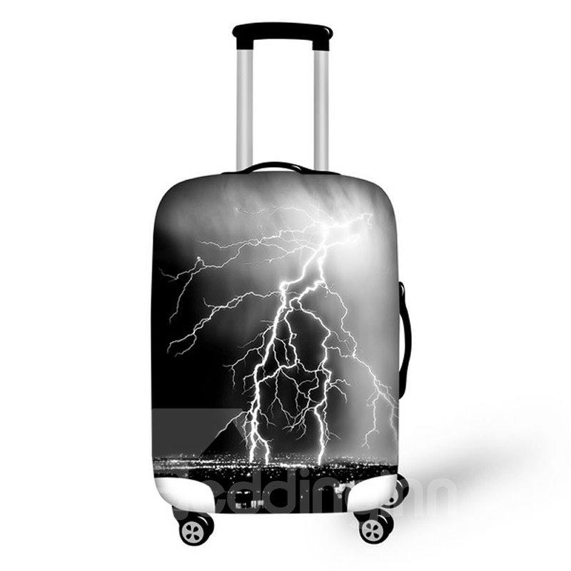 Dark Night Lightning Waterproof Suitcase Protector for 19 20 21