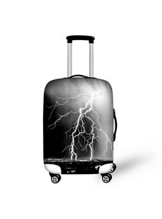 Dark Night Lightning Waterproof Suitcase Protector for 19 20 21