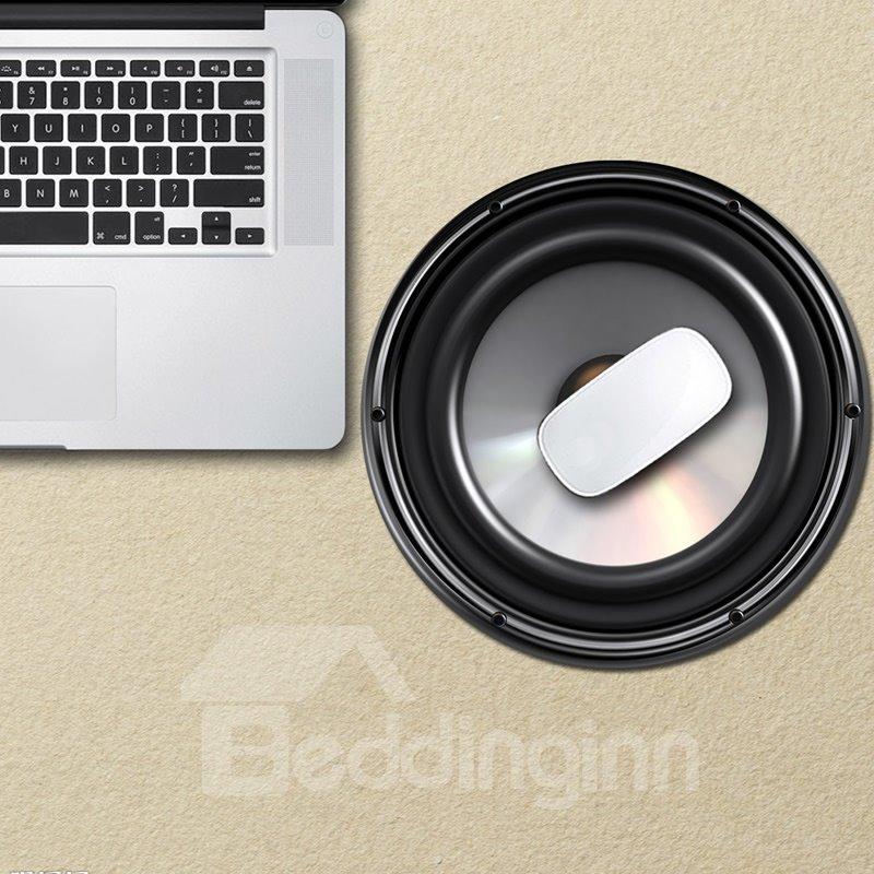 3D Speaker Pattern Removable Mouse Pad Desk Stickers