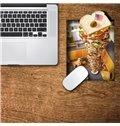 3D Huge Sandwich Dog Pattern Removable Mouse Pad Desk Stickers