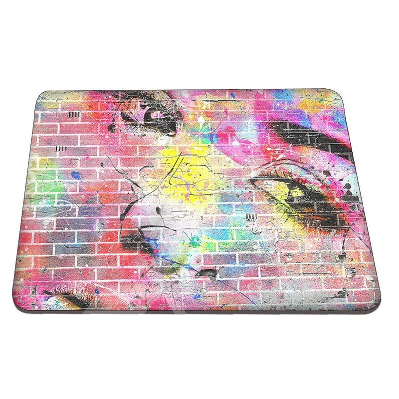 Pixels Colorful Face Pattern Hard Plastic Cover for MacBook