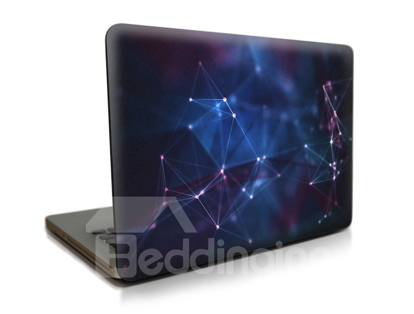 Geometry Blue Pattern Hard Plastic Cover for MacBook