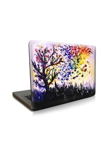 Oil Painting Tree Pattern Hard Plastic Cover for MacBook