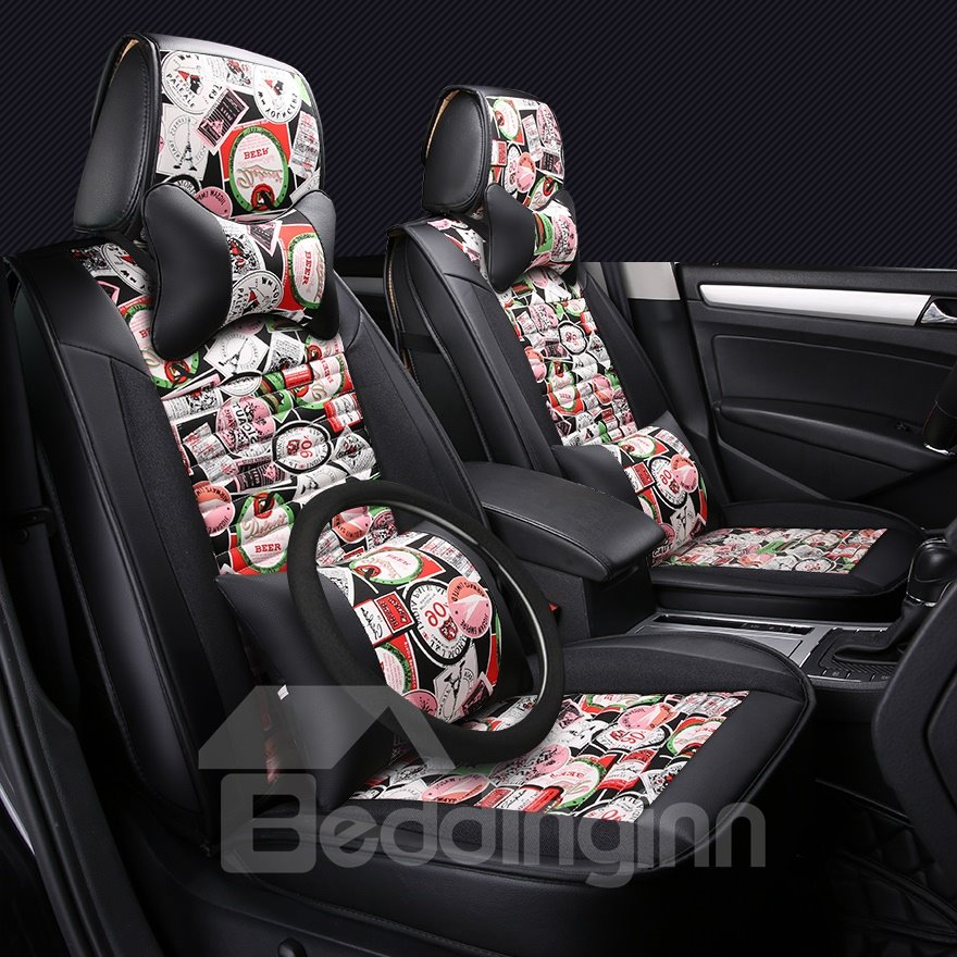 Luxury Permeability Camouflage Colorful Printing Durable Car Seat Covers