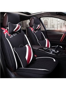 Britain Flag Pattern Bright Color Fashional Universal Car Seat Cover