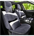 Warm Special Mash Up Flowing Suede Universal Car Seat Cover