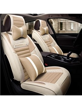 Refreshing Fashional Subtle Color Breathable Universal Car Seat Cover