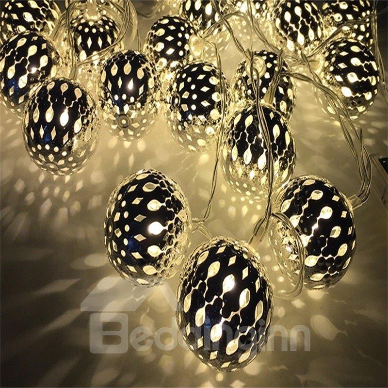 Modern and Elegant Style Moroccan Ball Shape Design 1.5Meter Strip LED Lights