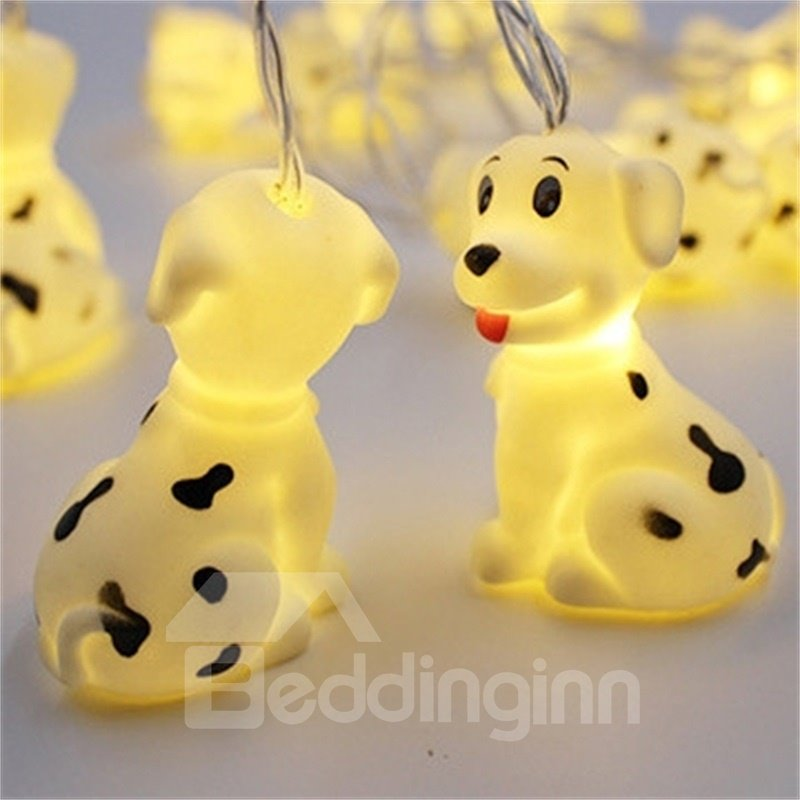 59/in Cute Dogs PVC Materials Festival Water-Proof and Decorative LED Night Lights