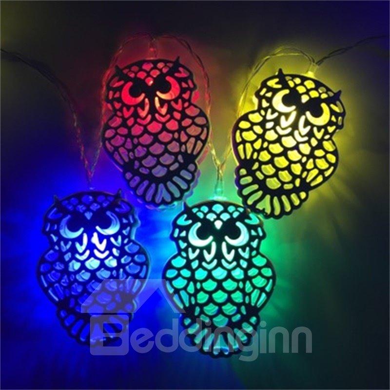 Creative and Elegant Style Owl Shape Design 1.5Meter Strip LED Lights