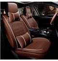 Cost-efficient Classic Layered Design Business Style Leather Universal Car Seat Cover