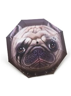 3D Print Animal Pattern Cute Puppy Umbrella