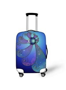 Beauty Flower Waterproof Suitcase Protector for 19 20 21