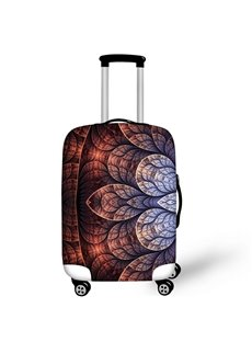 Mandala Floral Style Waterproof Suitcase Protector for 19 20 21