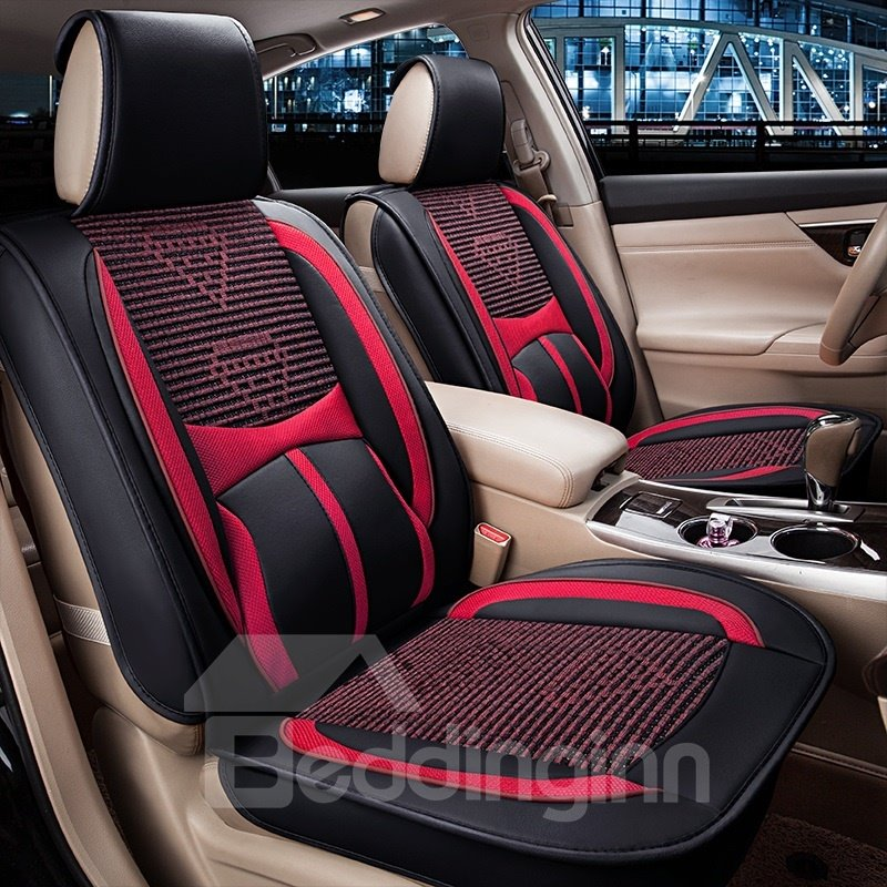 Beddinginn Ice Silk Material Solid Comfortable Universal Car Seat Cover Classic