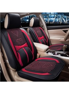 Cost-efficient Classic Ice Silk Material Solid Comfortable Universal Car Seat Cover