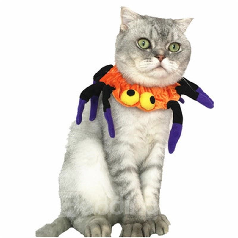 Halloween Costume Spider Neck Cat Dog Collar