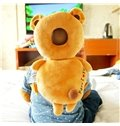 Bear Buckle PP Cotton 1-Piece Anti-Tumbling Toddlers Pillow