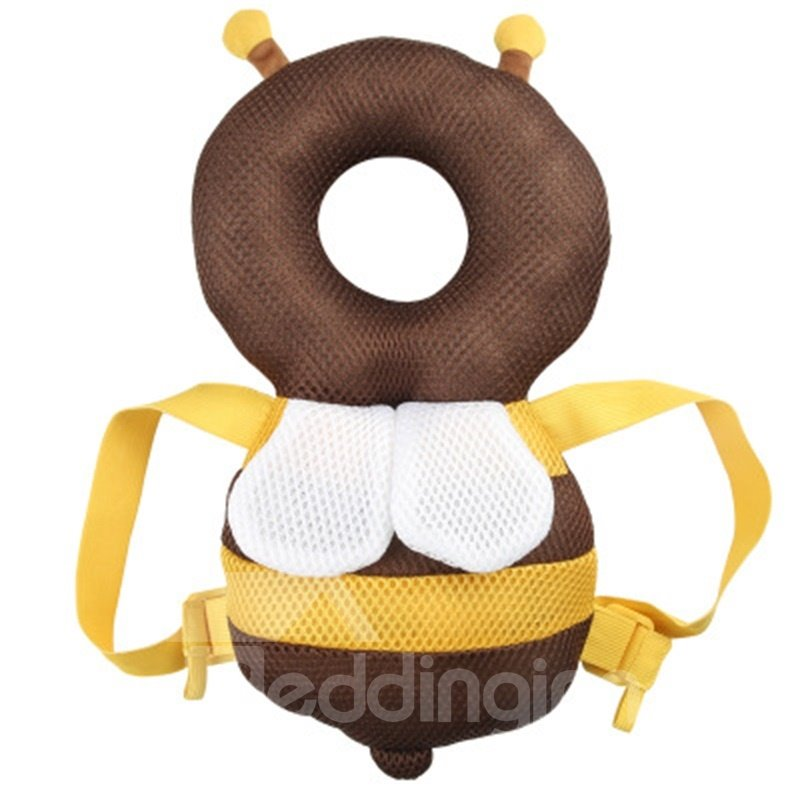 Bee Buckle Polyester and PP Cotton 1-Piece Anti-Tumbling Best Toddler Pillow