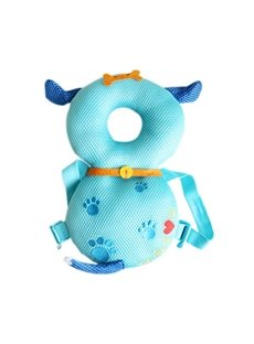 Dog Buckle Polyester and PP Cotton 1-Piece Light Blue Toddlers Pillow