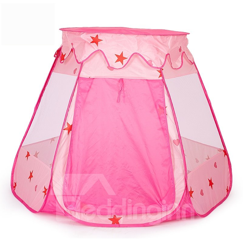 Polka Dots Simple Style Polyester Kids Indoor Playing Tent