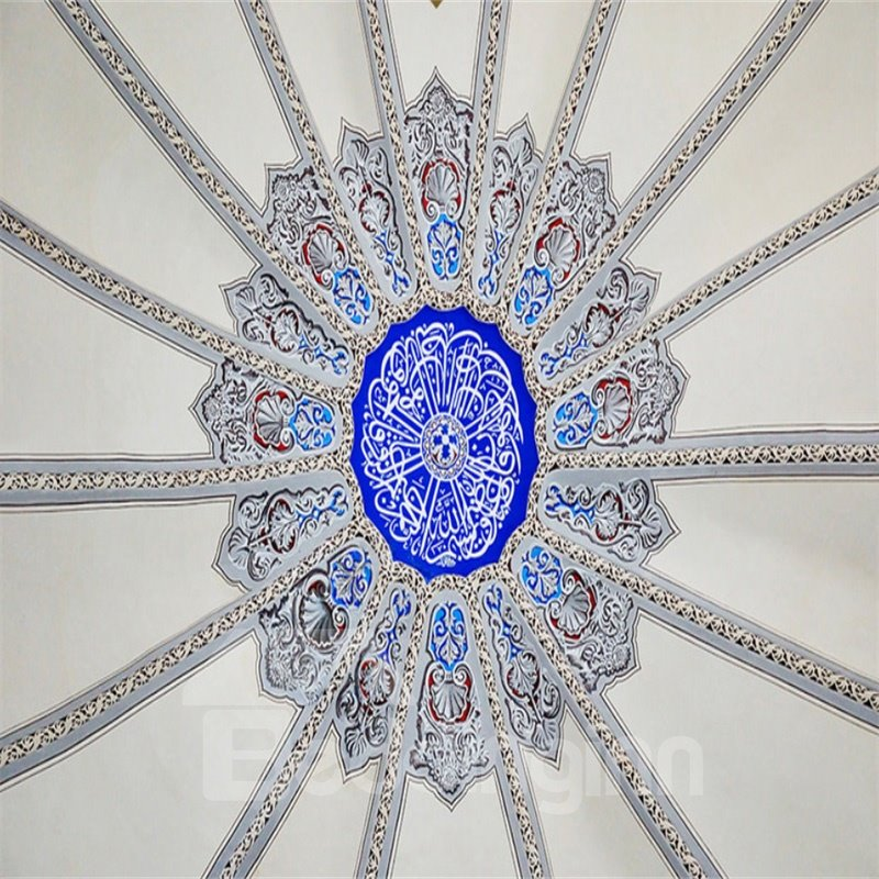 3D Bohemian Pattern Waterproof Durable and Eco-friendly Self-Adhesive Ceiling Murals