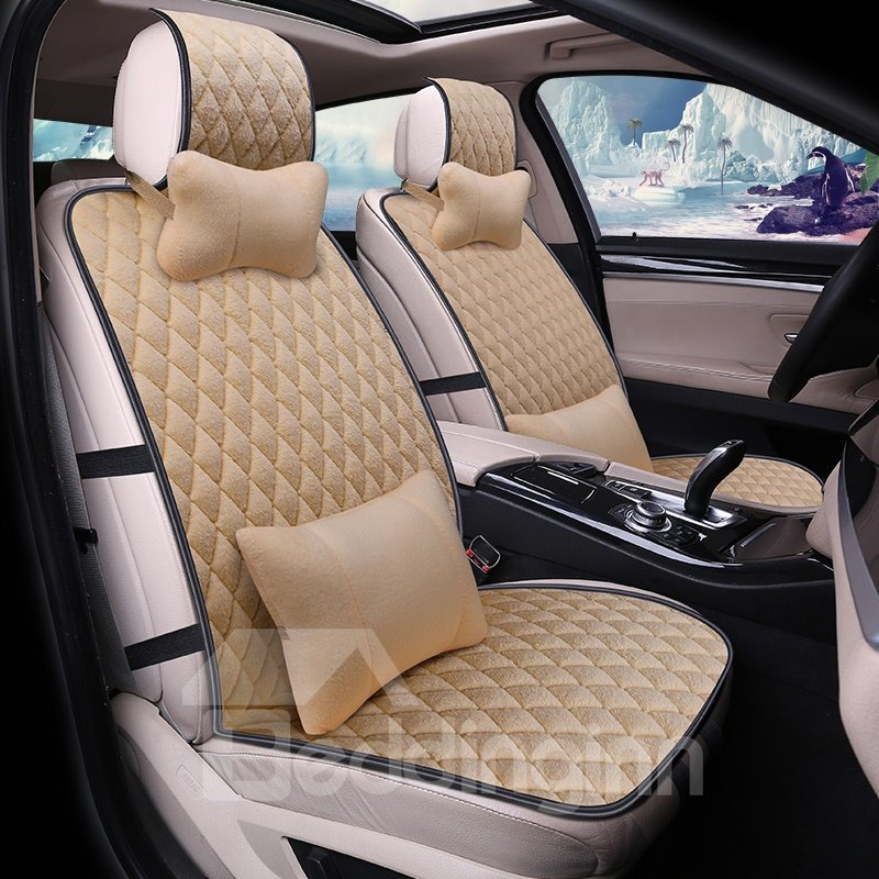 Color Design Texture Clear Universal Car Seat Covers Pic