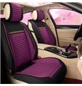 Cost-efficient Refreshing Casual Design Color-blocking Universal Car Seat Covers