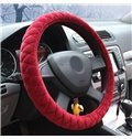 Plush Material Winter Thick Warm Cost-efficient Car Steering Wheel Cover