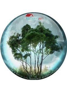 Beddinginn Green Tree Non Slip Rubber Mouse Pad