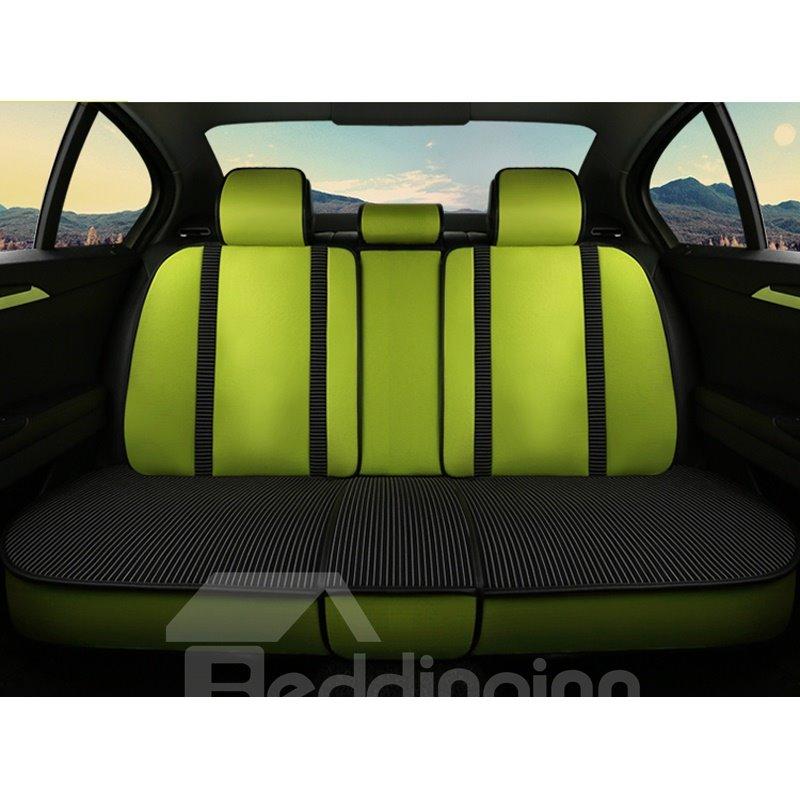 Bright Color Double Straps Design Universal Car Seat Covers