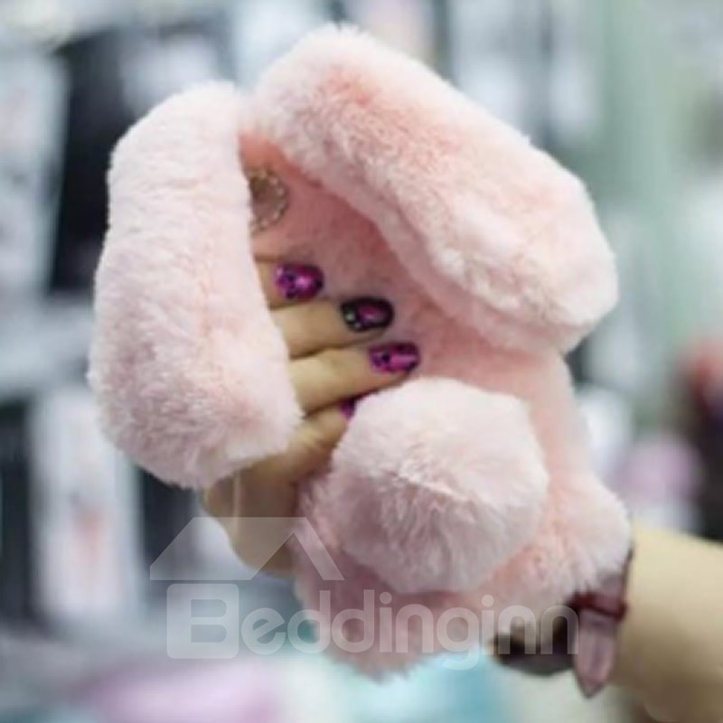 Apple Iphone X Cases Desgin Cute Furry Rabbit Bunny Protective Cover