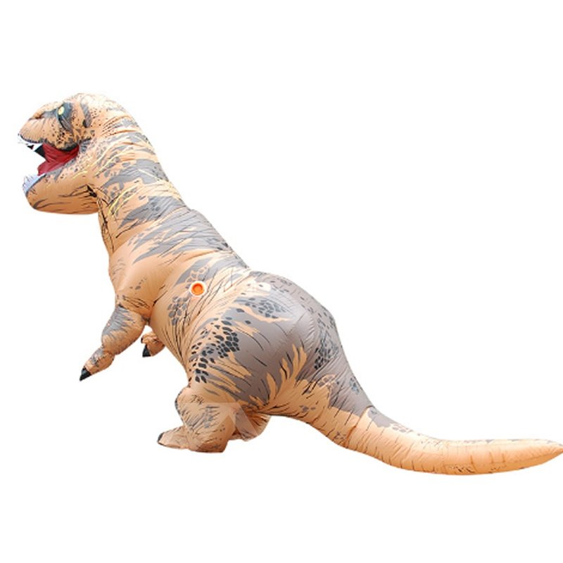 Halloween Gift Cool Dinosaur Inflatable Costume Suit Colorful