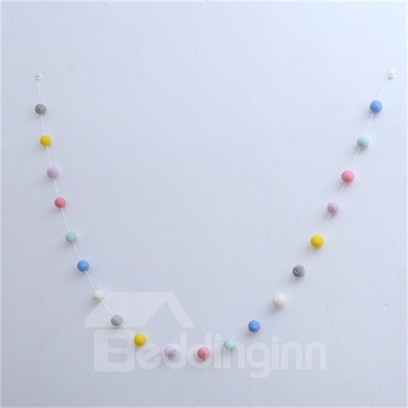 Nordic Style a String of Beads Kids/Baby Room Wall Decor