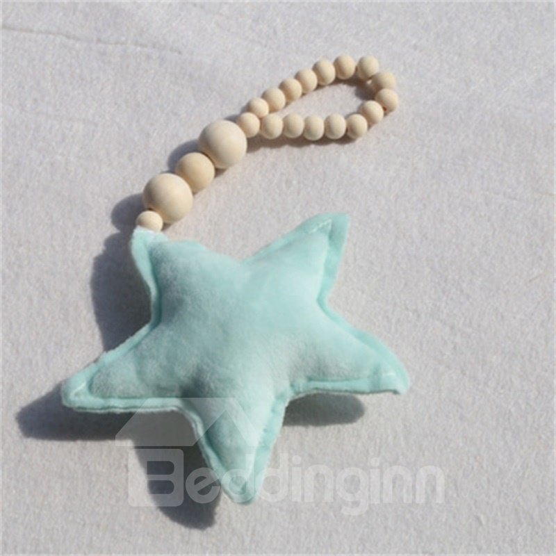 Nordic Style Star and Heart Shaped Beads Kids/Baby Room Wall Decor