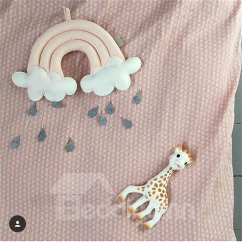 Nordic Style Raining Cloud Shaped Kids/Baby Room Wall Decor