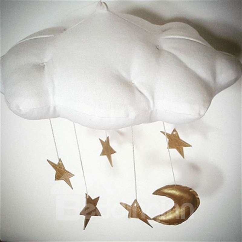 Nordic Style Cloud Shaped Baby Room Wall Decor