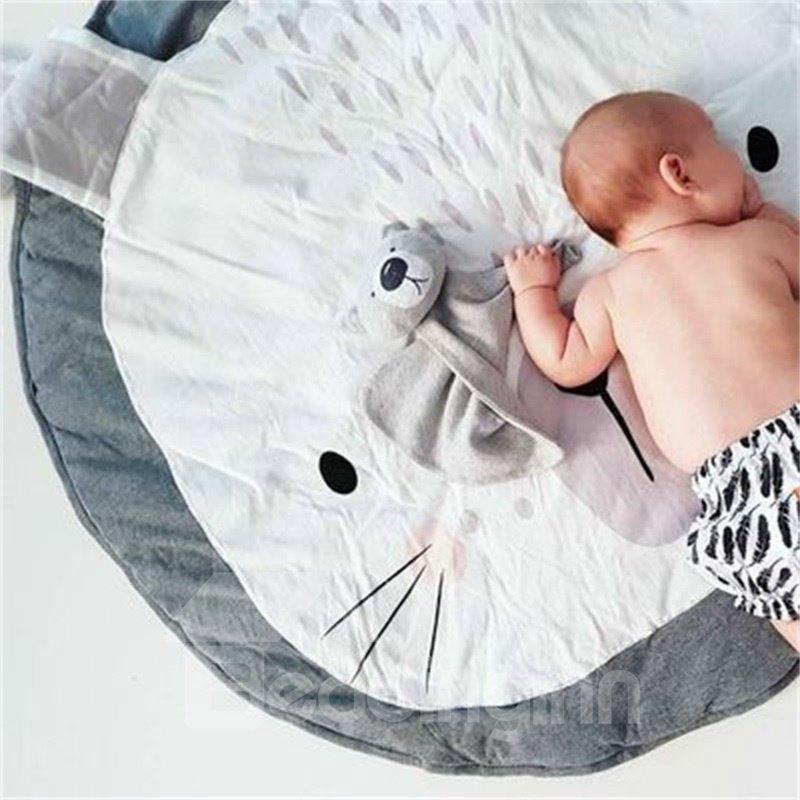 Rabbit Shaped Cotton Baby Play Floor Mat/Crawling Pad