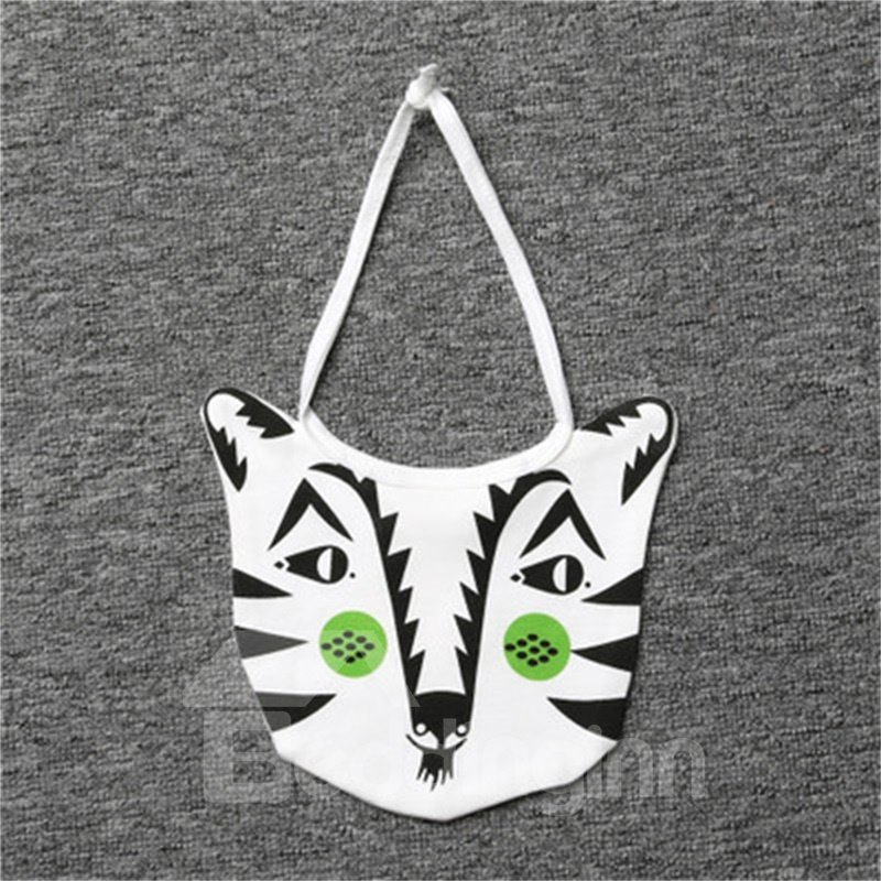 7.87*7.48in Bear Printed Simple Style Cotton Baby Bib