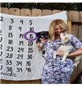 Countdown Calendar Printed Cotton Nordic Style White Mommy Blanket